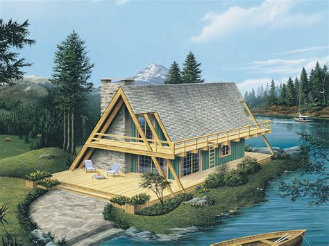 a frame style homes yukon rustic a frame home plan 008d 0162 house plans and