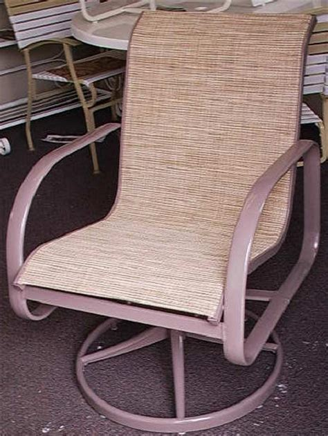 sling replacement for patio chairs outdoor replacement slings patio chair sling repairs
