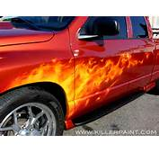 How To Paint Flames On A Car  Model Images Of Cars