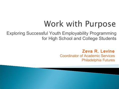 exploring leadership for college students who want to make a difference work with purpose exploring successful youth