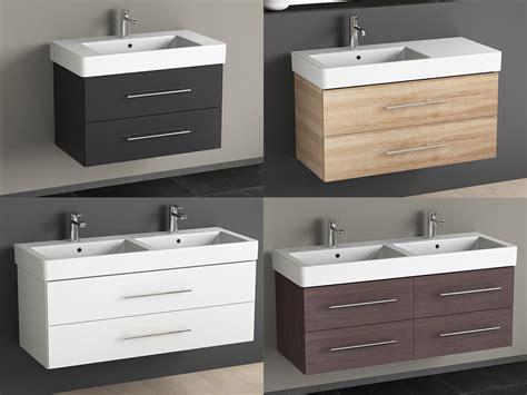 Badezimmermöbel Designklassiker by Badm 246 Bel Inkl Keramik Waschtisch Und Unterschrank 80