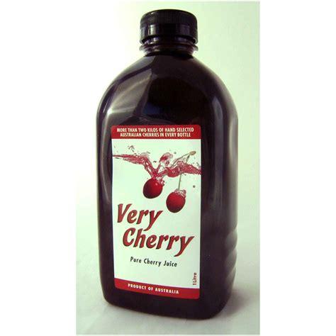 cherry juice cherry juice for gout
