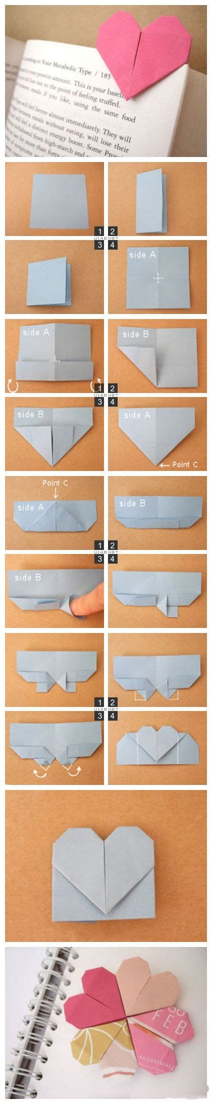 origami bookmark tutorial simple origami tutorial can be used as a