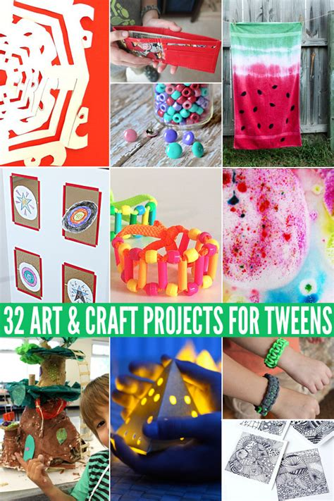 32 Awesome Craft Projects For Tweens Childhood101