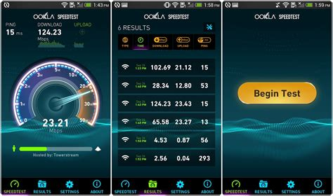 speed test 6 android netspeed apps to test your connection