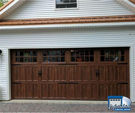 amarr garage door amarr classica steel garage door solutions
