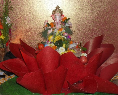 home decoration for ganesh festival ganpati decoration ideas for home the royale