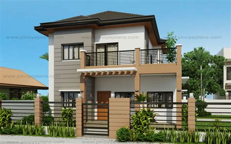 3 Bedroom 3 Bath House Plans marcelino four bedroom two storey mhd 2016021 pinoy