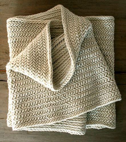 knit herringbone stitch stitches grey and on