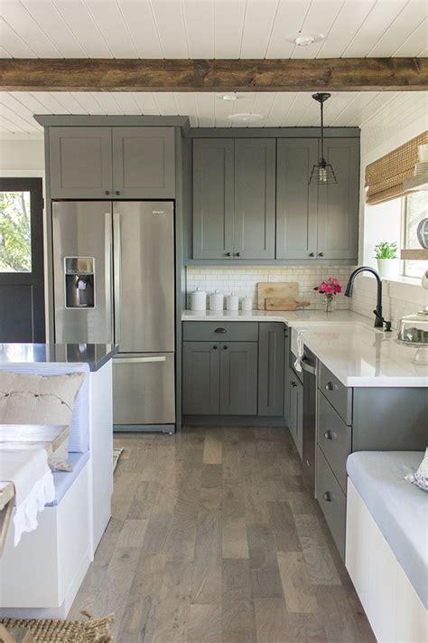 The Concrete Cottage Sneak Peek by 20 Gorgeous Gray And White Kitchens Maison De Pax