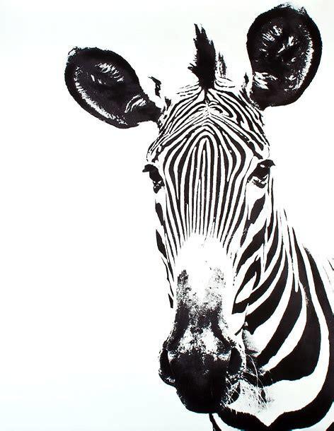 zebra head tattoo design