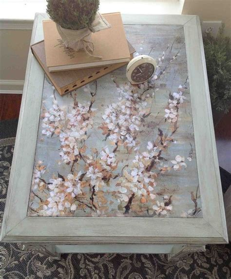 decoupage table ideas 10 table upcycled with mod podge chalk paint hometalk