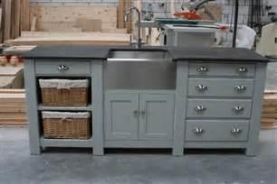 free standing kitchen sink units free standing kitchens handmade kitchens kitchen
