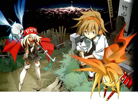 shaman king flowers shaman king flowers yoh and images