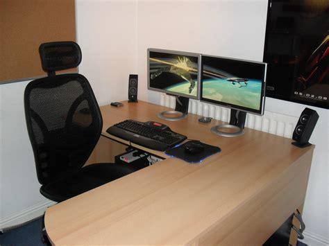 office desk setup 2010 office setup workstation setupsworkstation setups