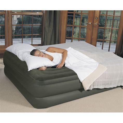 raised air bed heartland america raised air bed