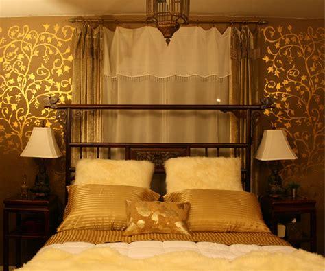 gold decor apartmentf15 gold bedroom