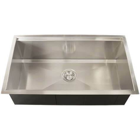 square kitchen sinks ticor tr4000 undermount 16 stainless steel square