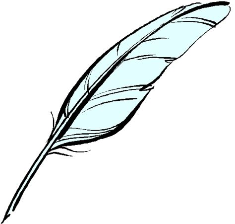 feather quill pen clipart best