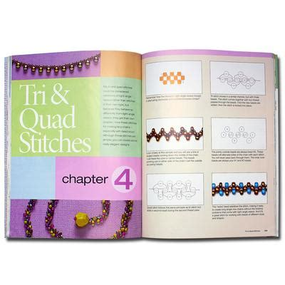 seed bead stitching techniques books bk00006 goodybeads