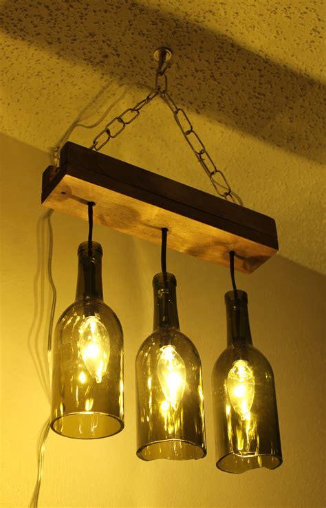 wine bottles chandelier a wine bottle chandelier makes