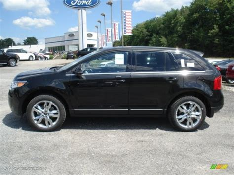 Black Ford Edge by Tuxedo Black Metallic 2013 Ford Edge Limited Awd Exterior