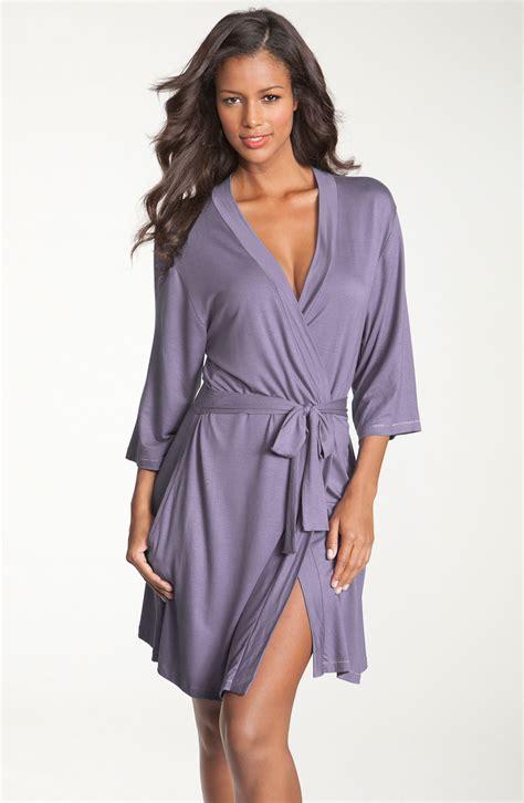 knit robe shimera ready to go knit robe in purple purple twilight