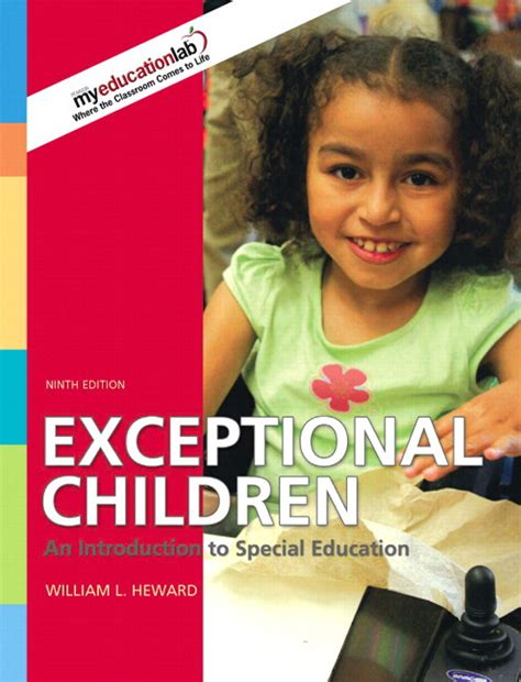exceptional children an introduction to special education 10th edition heward exceptional children an introduction to special