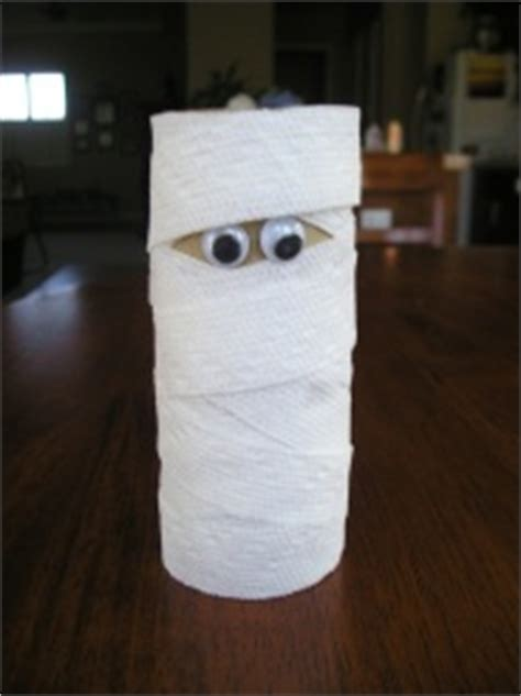 mummy toilet paper roll craft five easy crafts to do with your not