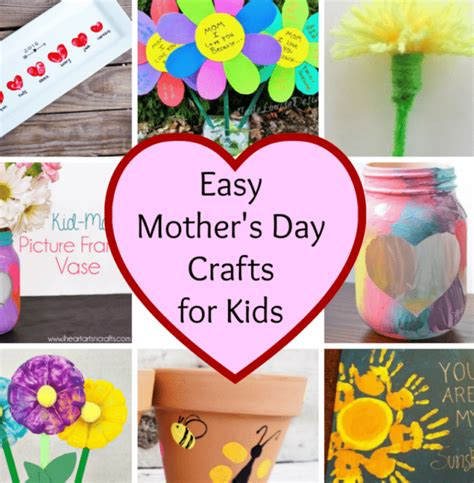 simple mothers day crafts for easy s day crafts stylish for