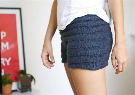 knitted shorts a pair and a spare diy fashion diy stolen girlfriends