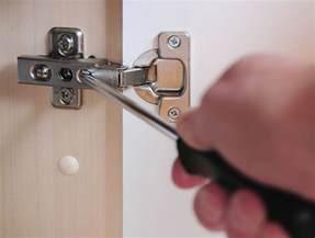 adjusting cabinet door hinges how to easily adjust hinges on a cabinet