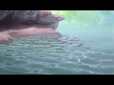 acrylic paint do you need water how to paint waves lesson 4 ripples