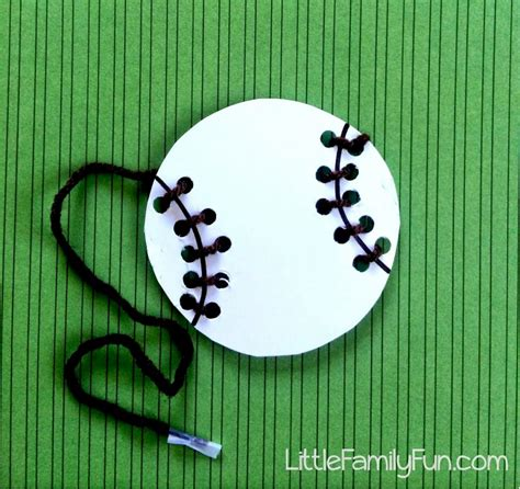 baseball crafts for sports crafts