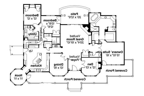 country house floor plans country house plans greenbriar 10 401 associated designs
