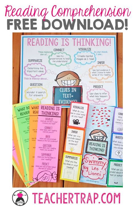 picture books to teach reading skills best 25 reading comprehension posters ideas on