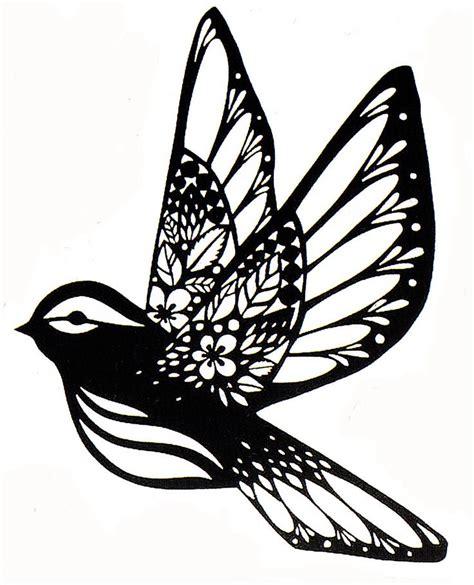 paper cutting sparrow paper cut fx paper cut stencil silhouette quilling workshop