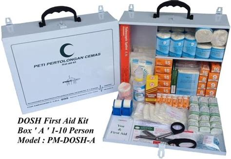 kit malaysia dosh aid kit box a for 1 10 pax