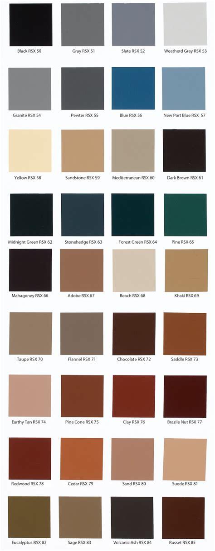 paint colors for concrete behr solid concrete stain color chart pinteres