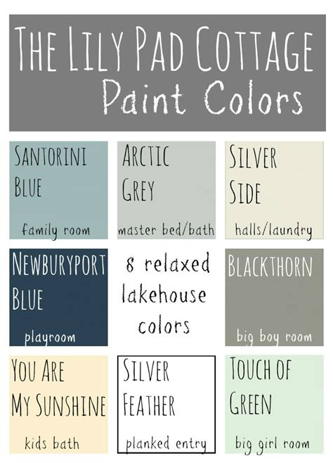 cottage interior paint color schemes my paint colors 8 relaxed lake house colors the