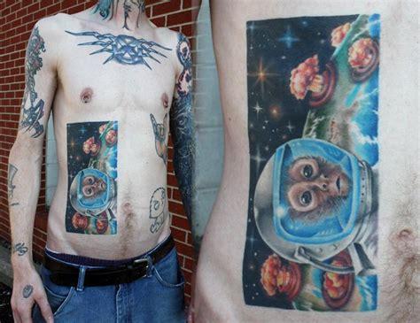 space monkey by gabe morton tattoonow