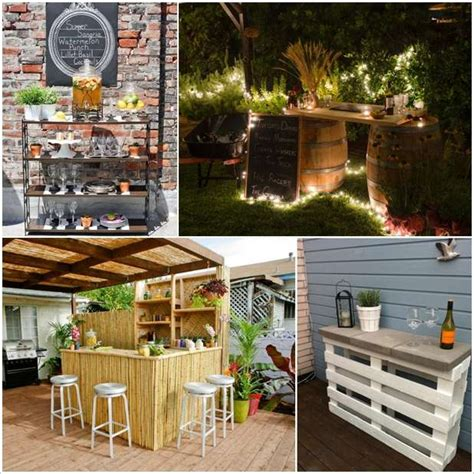 ideas for your backyard 5 amazing diy outdoor bar ideas for your backyard