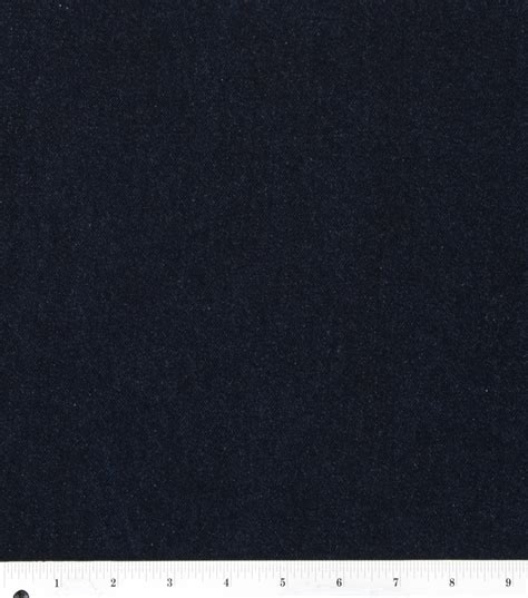 Joann Fabrics Home Decor sew classic bottomweight 11 oz dark wash denim fabric