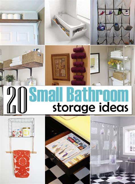 bathroom organization ideas for small bathrooms 20 creative storage ideas for a small bathroom organization