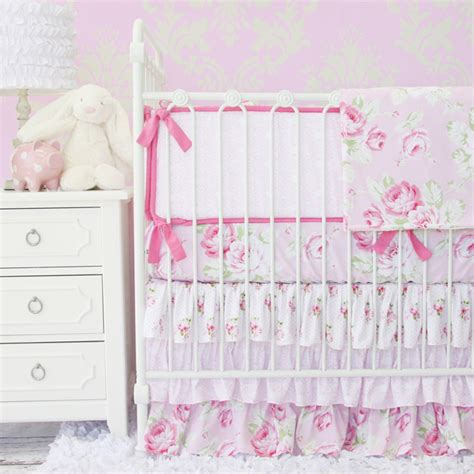 shabby chic nursery bedding shabby chic nursery style project nursery