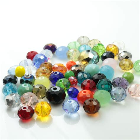 bead companies rondelle 2mm mixed color 198pcs