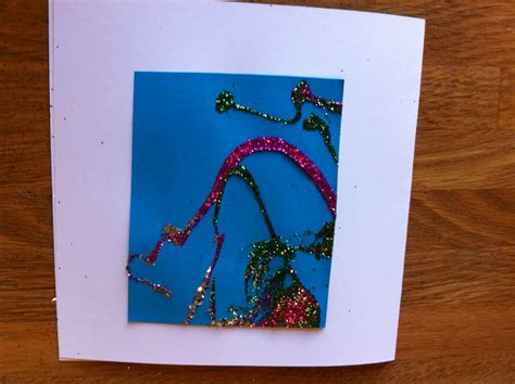 glitter paper for card greeting card glitter paper craft any age glue
