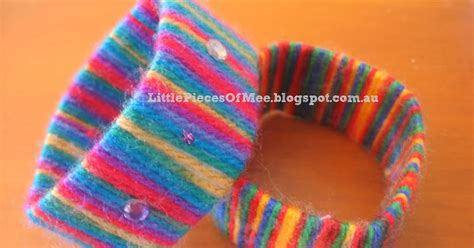 woollen crafts for pieces of mee craft woollen bangles
