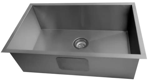 contemporary stainless steel kitchen sinks acri tec stainless steel large bowl undermount kitchen