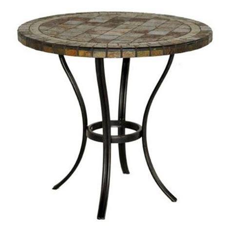 bistro patio tables hton bay patio tables 30 in slate patio bistro